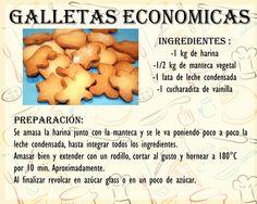 Galletas Economicas Sugar Cookie Recipe With Royal Icing, Cookie Frosting, Icing Recipe, Sugar Cookies Recipe, Homemade Cake Recipes, Baking Recipes, Cookie Recipes, Dessert Recipes, Desserts