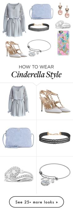 """near clothes"" by syifaanggraini on Polyvore featuring Chicwish, Valentino, The Row, Effy Jewelry, Humble Chic, Beverly Hills Charm, Disney and Casetify"