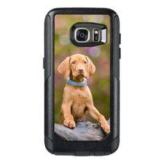 #photo - #Cute puppyeyed Hungarian Vizsla Dog Puppy Photo OtterBox Samsung Galaxy S7 Case