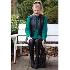 "Be a vixen wearing our ""VIXEN VEST"" this season. #mypinkmartini #vest #fall #winter #fashion"