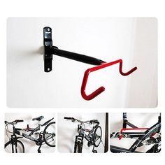 New-Cycling-Bike-Storage-Garage-Wall-Mount-Rack-Hanger-Bicycle-Steel-Hook-Holder