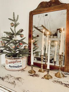 38 Festive Rustic Farmhouse Christmas Decor Ideas to Make Your Season Both Merry and Bright - The Trending House Christmas Makes, Noel Christmas, Christmas Ornaments, Christmas Crafts For Adults, Silver Christmas, Christmas Villages, Christmas Wreaths, Crafts For Kids, Father Christmas
