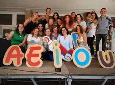 Els profes d'infantil i cicle inicial celebrem Maria Auxiliadora amb Damaris Gelabert!!!