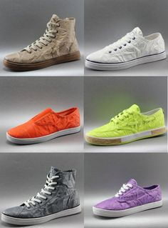 Unstitched Utilities: Shoes Made From Tyvek