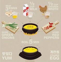 Korean steamed egg