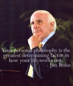Jim Rohn--I try to read something from him regularly.