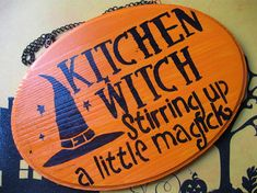 Kitchen Witch: Stirring up a little magick