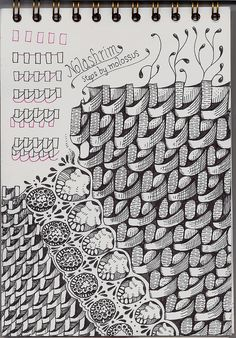 ZENTANGLES ️More Pins Like This At FOSTERGINGER @ Pinterest♓️