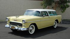 1955 Chevrolet Nomad 265 CI, Multiple Award Winner presented as lot S134 at Anaheim, CA 2015 - image1