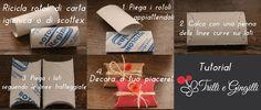 Trilli e Gingilli - Le creazioni di Sara: TUTORIAL confezioni regalo ecologiche! :)