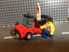 VW LEGO CABRIOLET SURFER Vw Cabrio, Surfing, Lego, Toys, Activity Toys, Clearance Toys, Surf, Gaming, Surfs Up