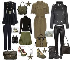 """""""MIlitary wear"""" by carolwatergirl on Polyvore"""