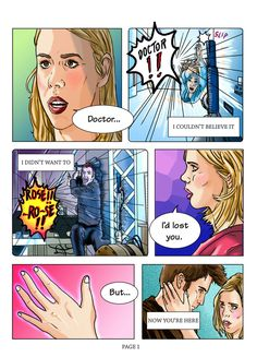Doctor Who Comic - page 1 of 5 by ~Rhea-Batz on deviantART