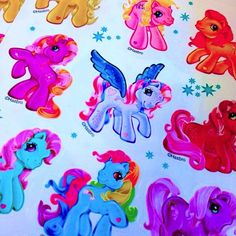 She is a unforgettable pony, and my best friend. My Little Pony Stickers, My Little Pony Cartoon, My Lil Pony, Rainbow Brite, Rainbow Dash, 1980s Kids, Holly Hobbie, Old Cartoons, Glass Pipes