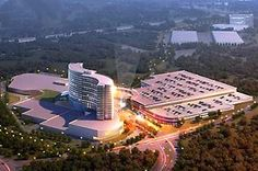 An architectural rendering of the Mashpee Wampanoag tribe's proposed casino in Taunton. Bureau Of Indian Affairs, The Next Step, Environmental Issues, In Law Suite, Rhode Island, New England, Acre, Paths, House Styles