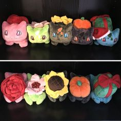 Adopt an adorable amigurumi Pokemon today! Available with or without a keychain, these handmade crocheted dolls are perfectly stitched up to create the ideal gift or accessory for your backpack. They're so cute you gotta catch 'em all!