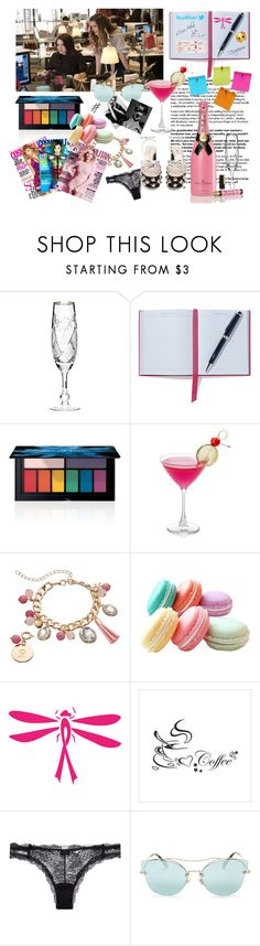 """The Bold Type"" by martina4pisova on Polyvore featuring Smythson, Smashbox, Loli Bijoux, La Perla, GE and Miu Miu"