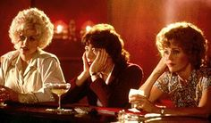 Dolly Parton, Lily Tomlin and Jane Fonda in 9 to 5 (1980). Costumes by Ann Roth.
