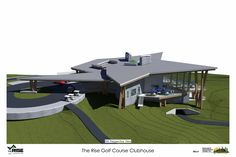 Samuelson Timberframe Design Inc - West Coast Contemporary - The Rise Golf Course Clubhouse Construction Drawings, Timber Frame Homes, West Coast, Golf, House Design, Contemporary, Building Plans, Timber Frame Houses, Architecture Illustrations