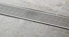 Master bath trough drain Linear Grate