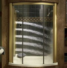 Also, a full-body spa shower.