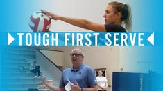 A serve is the only time that one person has complete control over the game. That means that every time you player goes back to serve they should be serving tough and aggressive. Learn more here: