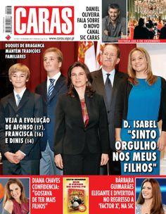 CARAS 956 - Duques de Bragança em família