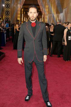 """Share This Style: #Óscares """"Os melhores de 2015""""   #oscars #outfit #dress #JaredLeto"""