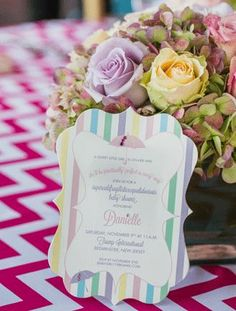 Take a star-studded look inside mom-to-be Danielle Jonas' stylish <em>Mary Poppins-</em>inspired baby shower! Designed by Michael Russo, the shower (planned for Danielle and thrown by her sisters and mom) put a whimsical spin on the traditional shower and turned the whole extravaganza into a colorful, playful fete! How did you plan your bash?