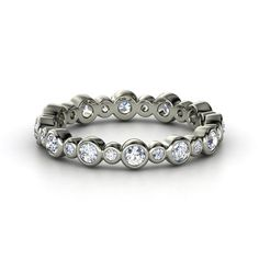 Platinum Ring with Diamonds! Yes, this is beautiful!