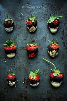 chocolate covered strawberries / box of spice