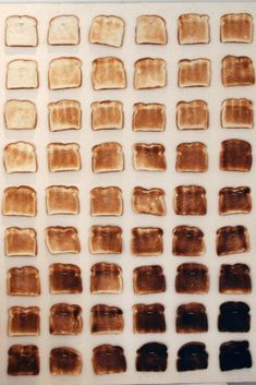 How dark do you like your toast? It may matter more than you think! Satisfying Photos, Food Photography, Creative Photography, Burnt Toast, Brown Aesthetic, Color Shapes, Food Art, Bakery, Art Studios