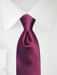Zweifarbig rosa Krawatte