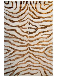 Area Rugs in many styles including Contemporary, Braided, Outdoor and Flokati Shag rugs.Buy Rugs At America's Home Decorating SuperstoreArea Rugs - Rugs USA Safari Contemporary Zebra Print with Faux Silk Highlights Brown Rug by i - Contemporary Rugs, Modern Rugs, Contemporary Interior, Motifs Organiques, Brown Rug, Brown Beige, Rugs Usa, Hand Tufted Rugs, Gold Print