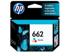 Cartucho de Tinta Colorido - HP 662 CZ104AB