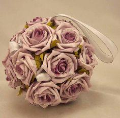Lilac Rose Pomander Ball