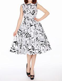 Sleeveless Dress - Kleider - Vintage-Style - Ars-Vivendi