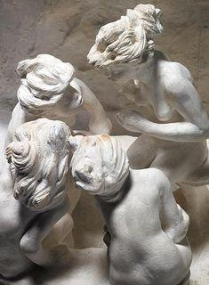 Camille Claudel, Les Bavardes ou Les Causeuses ou La Confidence, 1895. Musée Rodin, París