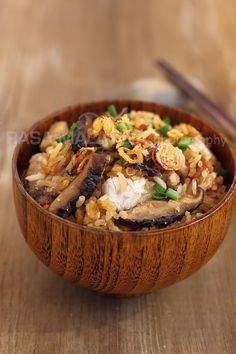 Yam Rice and I am glad that I'd acquired the liking for this dish. In my family, we almost never had yam rice at home so I didn't know how t...