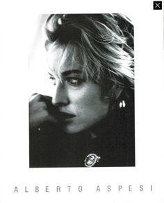 Tatiana Patitz by Peter Lindbergh - Alberto Aspesi F/W 1989