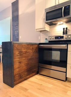 Renovation Inspiration: Do It Yourself Concrete Kitchen Countertops