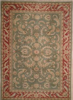 NEW CONTEMPORARY PERSIAN KASHAN AREA RUG 1389 - AREA RUG This beautiful Handmade Knotted Rectangular rug is approximately 10 x 14 New Contemporary area rug from our large collection of handmade area rugs with Persian Kashan style from China with Wool