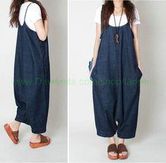 Overalls & Jumpsuits - Roman Strumpf Slacks Jumpsuit - ein Designerstück von shmilyyaolifestyle bei DaWanda