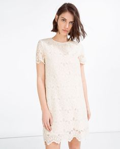 LACE DRESS-Mini-DRESSES-WOMAN | ZARA United States