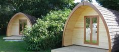 Glamping in Camping Pods, Dartmoor, Devon