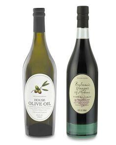 Williams-Sonoma House Olive Oil & Balsamic Vinegar #WilliamsSonoma