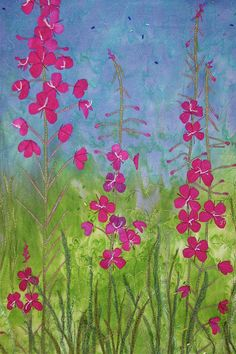Beauty of the Season - Nancy Dobson Textile Artist