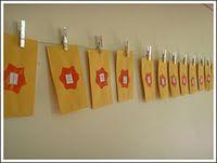 envelopes + clothes pins = Advent Calendar!