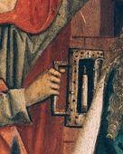 Geburt Christi (detail)  1470 ; 1480 ; Graz ; Österreich ; Steiermark ; Universalmuseum Joanneum  http://tarvos.imareal.oeaw.ac.at/server/images/7000700.JPG