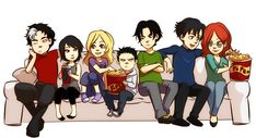BatBrats by ~gabzilla.deviantart From left to right: Jason Todd, Cassandra Cain, Stephanie Brown, Damien Wayne, Tim Drake, Dick Greyson, and Barbara Gordon